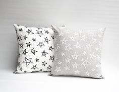 Earth Cadets is opening soon Star Patterns, Print Patterns, Living Room Cushions, Bright Pillows, Big Girl Rooms, Star Print, Screen Printing, Pillow Covers, Stars
