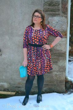 Plus Size Fashion for Women over 40  #OOTD #WWIW Plus size fashion blogger that is practical BigGirlsGuide.com
