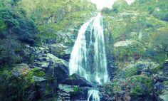 La impresionante cascada del Belelle en Neda. Un paraje que hay que conocer en Ferrolterra.