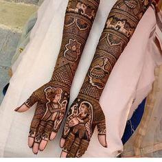 94 Easy Mehndi Designs For Your Gorgeous Henna Look Dulhan Mehndi Designs, Mehandi Designs, Arabic Bridal Mehndi Designs, Engagement Mehndi Designs, Tattoo Designs, Mehendi, Henna Mehndi, Easy Mehndi, Simple Henna