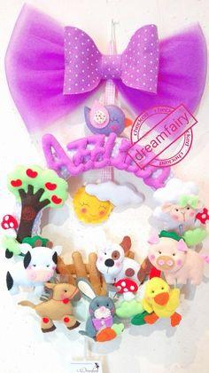 Fiocco nascita fattoria, by dreamfairy, 38,00 € su misshobby.com
