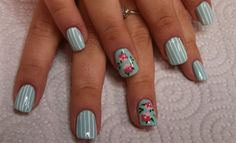 That Laura Ashley look by aliciarock - Nail Art Gallery nailartgallery.nailsmag.com by Nails Magazine www.nailsmag.com #nailart