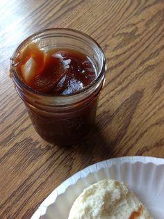 Homemade apple butter - in a crockpot. I'll be substituting the sugar for Splenda.