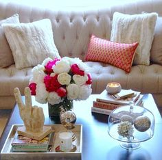 cool coffee table decor