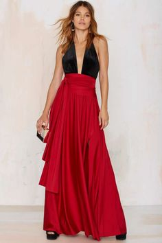 Wildfire Maxi Skirt - Valentine's Day | Best Sellers | Back In Stock | Bottoms | All Party | Maxi