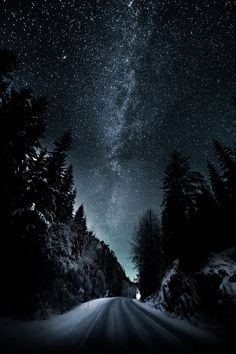 Road to the stars...