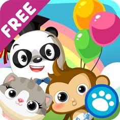 La Guardería del Dr. Panda es una aplicación que estimula el pensamiento creativo. Los animales llevan a sus bebés a La Guardería del Dr. Panda y tu hijo se encargará de cuidar de ellos, jugar con ellos, llevarles a dormir o hacerles una fiesta de cumpleaños. El juego tiene infinidad de posibilidades y está diseñado para niños de entre 2 y 6 años