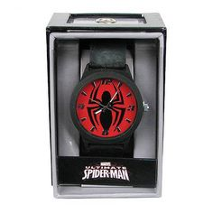 Spiderman Emblem Strap Watch