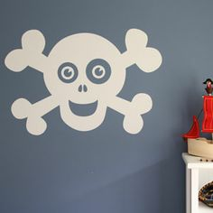 Another decal option for the pirate room.