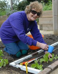 Gardening for blind and partially sighted people