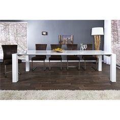 stoły rozkładane, nowoczesne stoły do kuchni jadalni. Meble Bydgoszcz Oak Dining Table, Dining Table Design, Esstisch Design, Elegante Designs, Trends, Furniture, Home Decor, Dinning Room Ideas, Long Dining Tables