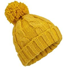 Miss Selfridge Chartreuse Pom Beanie ($12) ❤ liked on Polyvore featuring accessories, hats, beanies, headwear, jewelry, chartreuse, beanie cap hat, pompom hat, pom pom hat and pom beanie
