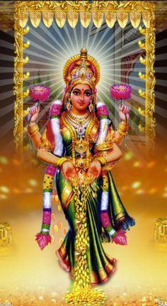 Lakshmi is mentioned once in Rigveda, where it means kindred mark or sign of auspicious fortune Lakshmi hindu art Lakshmi wealth Lakshmi goddesses Lakshmi haram Lakshmi tanjore painting Lakshmi vaddanam Lakshmi bangle Lakshmi decoration Lakshmi necklace Bhagavad Gita, Om Namah Shivaya, Lord Murugan Wallpapers, Lakshmi Images, Lord Ganesha Paintings, Shiva Shakti, Durga Maa, Lord Shiva Family, Spiritual Images