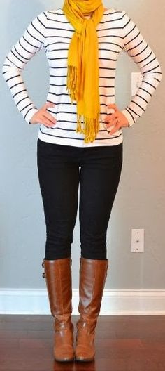 Adorable fall outfit