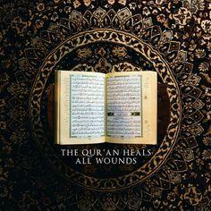 Let the Quran heal you! ❤️  #Quran #Heal #Faith