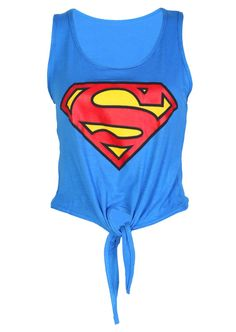 Superman T-shirt! Superman Stuff, Dc Clothing, Superman Clothing, Superman Outfit, Fashion D, Woman Fashion, Superhero Fashion, Crop Shirt, Sports