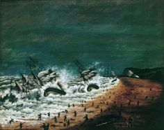 'A Terrible Shipwreck' found to have happened in Kingsdown, near Deal, in 1870 - Discoveries - Art Detective