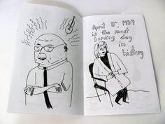 A Coloring Book of PEOPLE van ElizabethGraeber op Etsy