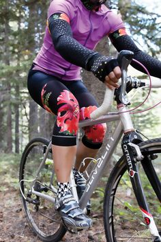 Shebeest Flamboyant Collection for women s cycling. The perfect way to add  some playful patterns to 4b5a65763