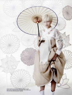 Vogue Korea May 2013 Photographer: Gun-Ho Lee Model: Hyun-Yi Lee Stylist: Young-Hee Se, Korean fashion