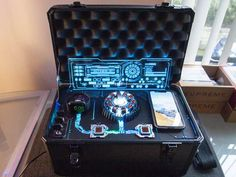 Arc Reactor Apple Watch & iPhone Charging Station