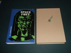 Vintage Science fiction 1st of Space Fury by Fanthorpe  Arcadia House 1968