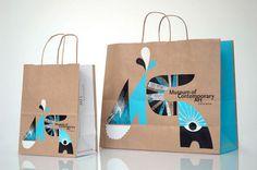 MCA Store Bags / redesigned by Cody Hudson. #cody_hudson  http://www.widewalls.ch/artist/cody-hudson/