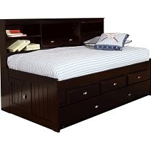 Found It At Wayfair Bookcase Daybed With 3 Drawers And Trundle