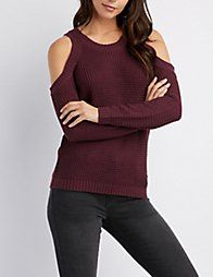 965e060312 Black Cold Shoulder Pullover Sweater Jeans Fit