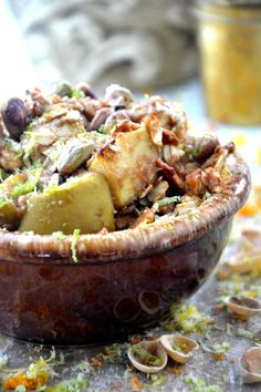 Gluten Free Apple Pistachio Crisp from @Matty Chuah Healthy Apple #vegan too