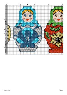 Beading Patterns, Embroidery Patterns, Cross Stitch Patterns, Quilt Corners, Mini Cross Stitch, Matryoshka Doll, Le Point, Plastic Canvas, Needlepoint