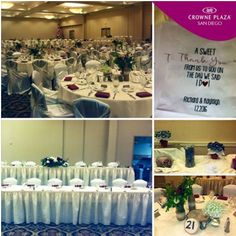 Congratulations to Richard & Kayleigh from all of us here at Crowne Plaza San Diego - Mission Valley!