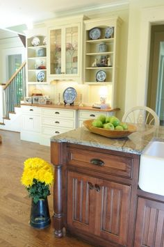 Beautiful built in buffet and hutch