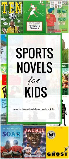Best sports books for kids. Chapter books for ages 8 and up. Sports Theme Classroom, 3rd Grade Classroom, Middle School Boys, Best Children Books, Books For Boys, Childrens Books, Summer Reading Lists, Kids Reading, Guided Reading