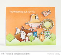 Fall Friends Stamp Set and Die-namics, Stepped Up Chevron Die-namics - Melania Deasy  #mftstamps