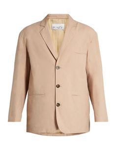 Soft-tailored cotton-blend blazer | Raey | MATCHESFASHION.COM UK