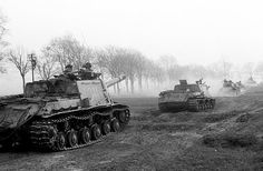 1945, the start of the Battle of the Seelow Heights, the opening phase of the Battle of Berlin.