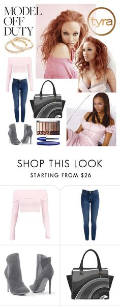 """""""Tyra Off Duty"""" by creation-gallery ❤ liked on Polyvore featuring Boohoo, Venus and modeloffduty"""