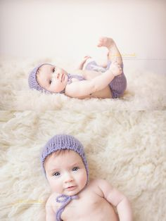 Baby's First Year, 3 Months old. Studio session Nashville, TN Baby Photographer Jennie Pyfferoen