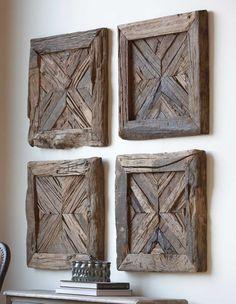 Wood Wall Art - Wooden Wall Art - Geometric Wood Wall Art