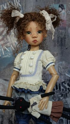 OOAK Customized Miki MSD BJD by Kaye Wiggs...shared by a TRC Member