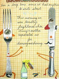 Sara Fanelli Fork and knife