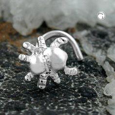 Nasenstecker, Spinne, Silber 925 accessorize24-90841