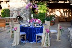 royal+blue+and+pink+wedding+ideas | Sophisticated, Elegant Royal and Fuchsia Tablescape…Inspiration ...