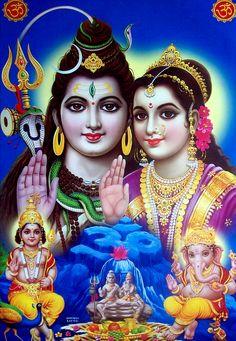 Shiv Parvati Parivar