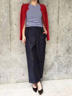 【ELLE】「チノ」のワイドパンツは360°どこから見ても美ライン!|エディターが推薦! 話題の東京ブランドで春スイッチをON|エル・オンライン