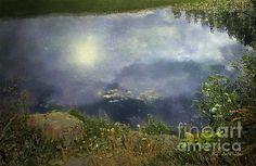 """Quiet Night On The Pond"" ~ Copyright 2011 RC deWinter"