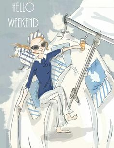 Hello weekend | The House of Beccaria~