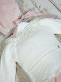conjunto ropa invierno bebe niña terciopelo paz rodriguez