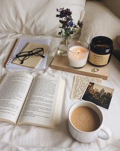 - Book and Coffee